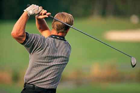 Alloa Golf Club - Three PGA Golf Lessons With Video Swing Analysis - Save 41%