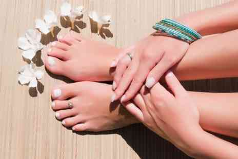 Beauty By Amy - Shellac Manicure or Pedicure - Save 59%