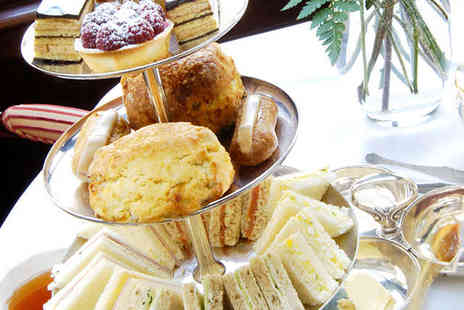 Indulgence - Champagne Afternoon Tea for Two - Save 50%