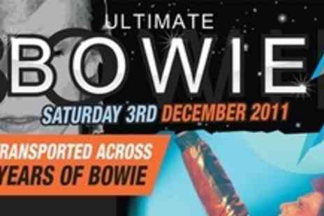 Simply Skate Arena - Two Tickets For Ultimate Bowie Plus Dinner and Drink - Save 59%