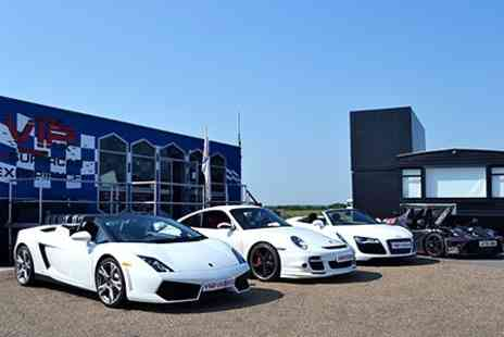 VIP Supercar Experience - Drive Choice of Cars For Six Laps - Save 76%