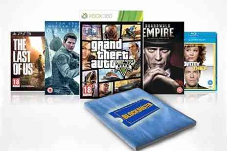 Blockbuster Entertainment - Four Month Blockbuster Subscription - Save 69%