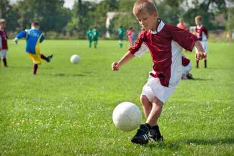 5ives Barnsley - Childrens Football Party For Ten With Food and Cake - Save 61%