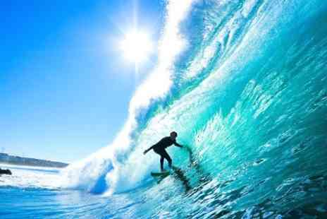 LATAS SURF HOUSE - In Spain Five Night Stay With Surf Lessons and Transfers - Save 57%