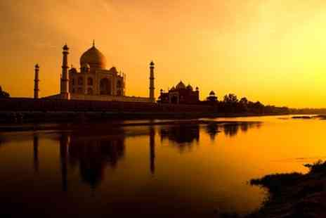 On The Go Tours - In India Seven Night Golden Triangle Tour With Accommodation and Transfers For Two - Save 35%