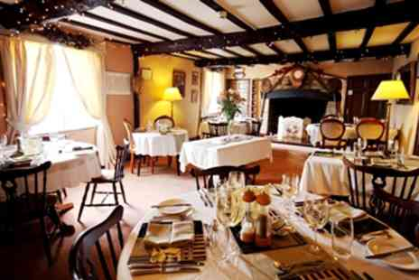 The Crown Country Inn - Award Winning Dinner for 2 - Save 52%