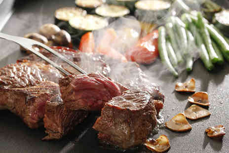 The Harbour City - Three course teppanyaki meal for 2 - Save 53%