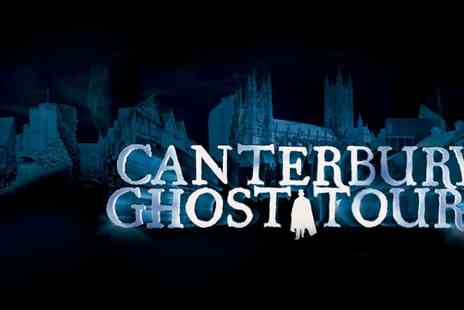 The Canterbury Ghost Tour - Ghost Tour for 4 - Save 56%