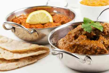 Paprika Calverley - Two Course Indian Meal for Two - Save 51%