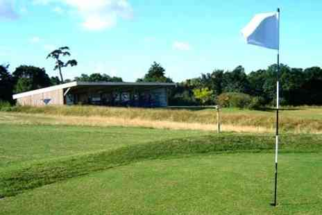 Stowmarket Golf Centre - Golf For Two 18 Holes and Driving Range - Save 50%