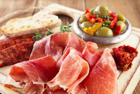 3 Amigos - Tapas for two including six dishes to share and a glass of sangria - Save 65%
