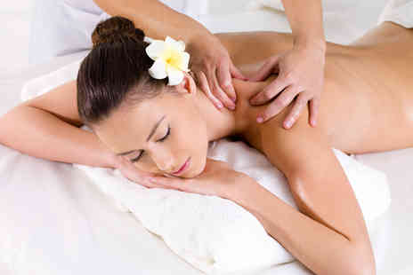The Cottage - Full body hot stone aromatherapy Swedish or deep tissue massage - Save 55%