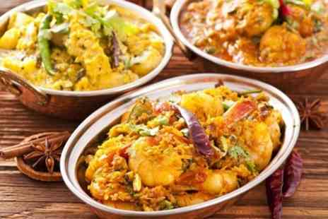 Rajkot Indian Restaurant - Two Course Indian Meal With Sides For Two - Save 72%