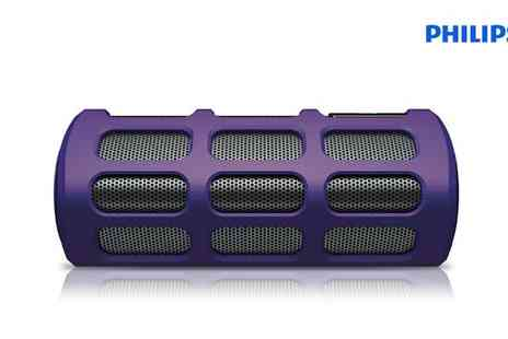 The Electric Incentive Company - Philips Wireless Portable Speaker - Save 46%