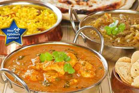 Indian Cottage - Indian lunchtime banquet for two - Save 69%