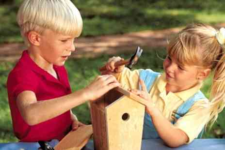 Billy  Jeans - Childrens Woodwork or Science Workshop - Save 50%