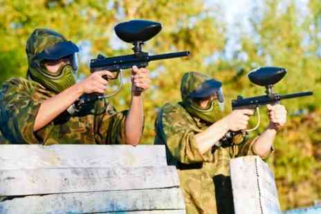 SAS Paintball - Play With 100 Balls - Save 60%