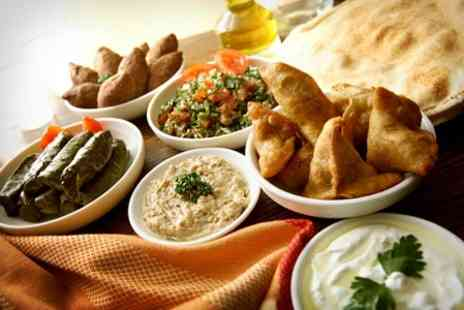 Byblos Cafe - Lebanese Mezze Feast For Two With Coffee - Save 53%