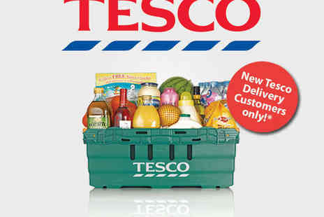 Tesco - £50 to spend at Tesco.com - Save 50%