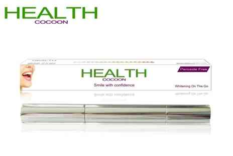 Health Cocoon - Discover whiter, brighter teeth Handy whitening pen - Save 91%