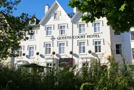 The Queens Court Hotel - Exeter Georgian Townhouse Stay with Dinner - Save 47%