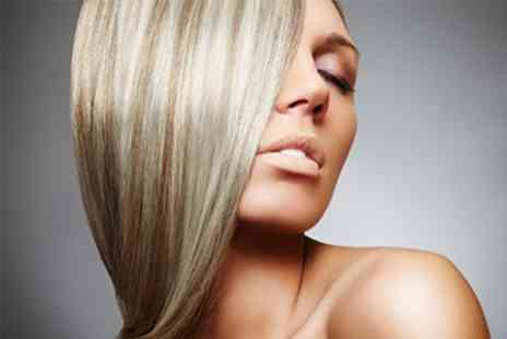 Neavaeh Nails Beauty & Hair Salon - Half Head Highlights Plus Cut, Style and Conditioning Treatment - Save 57%