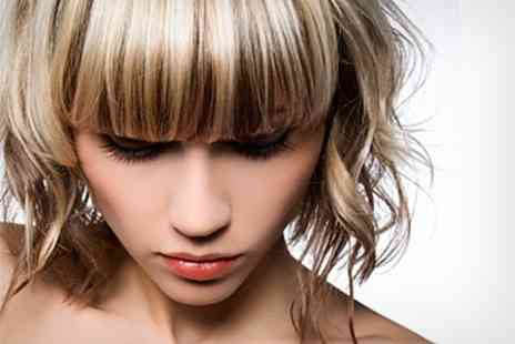 Boost Hair and Beauty - Half Head Highlights Plus Cut or Restyle and Blow Dry - Save 63%