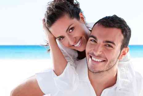Miami Smile - One Laser Teeth Whitening Session - Save 30%