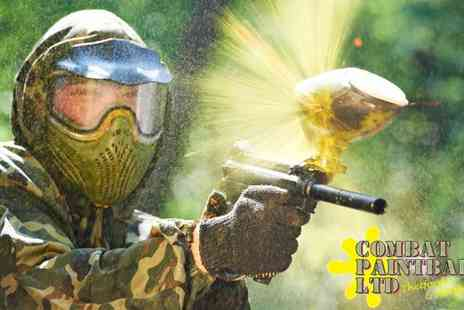 Combat Paintball - Combat Paintballing for Four - Save 75%