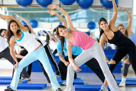 Club Oxygen Health and Fitness - One Month Fitness Classes - Save 58%