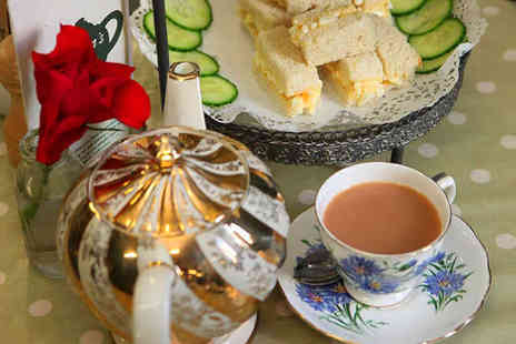 Jamesons Tea Rooms - Afternoon Tea for Two People - Save 55%