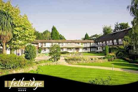 The Felbridge Hotel and Spa - Overnight Stay For Two in Luxury Double Room Plus Spa Treatment Each for £129 - Save 61%