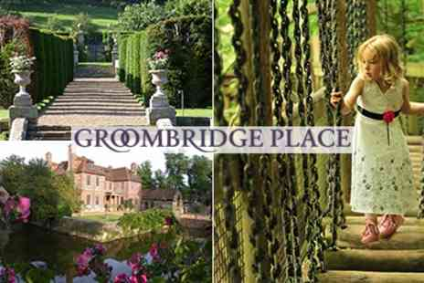 Groombridge Place - Entry Tickets to A Line Up Of Fabulous Activities To Enjoy All Summer - Save 50%