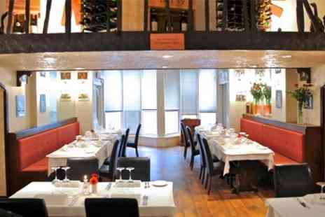 Montmartre Restaurant Francais - Two Courses of French Cuisine For Two - Save 53%