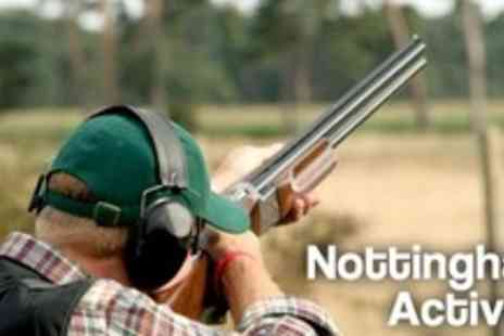 Nottingham Activity Centre - Three Hour Target Mania Including Clay Pigeon Shooting, Axe Throwing and Crossbow Firing - Save 68%