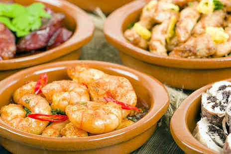 Copacabana Restaurant - Six tapas dishes to share between 2 - Save 48%