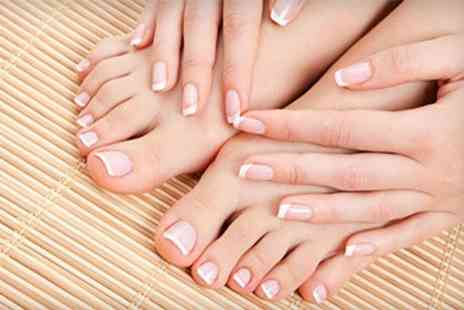 The Star Rooms spa - Gelish or OPI Manicure or Pedicure - Save 52%
