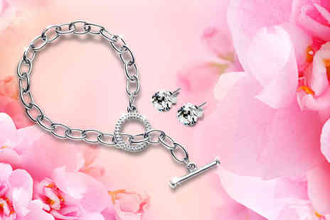 Diamond Style - Tiffany inspired bracelet - Save 87%