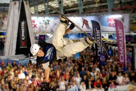 Ski & Snowboard Show - Tickets and Ice Skating Session - Save 61%