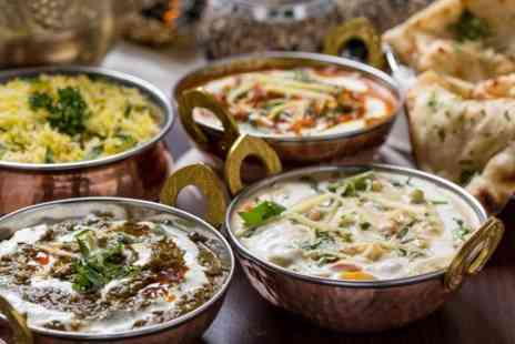 Delhi Deli - Indian Thali Meal For Two - Save 57%