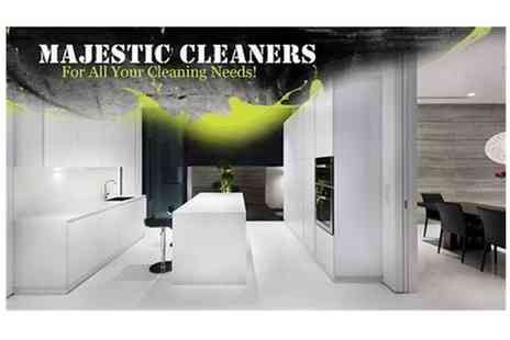 Majestic Cleaners - Household Cleaning - Save 66%