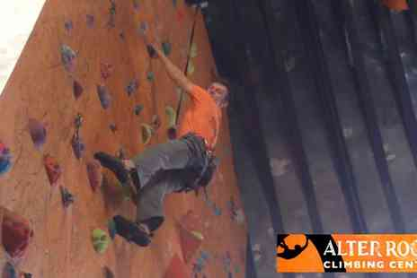 Alter Rock - Beginner's Climbing Class - Save 50%