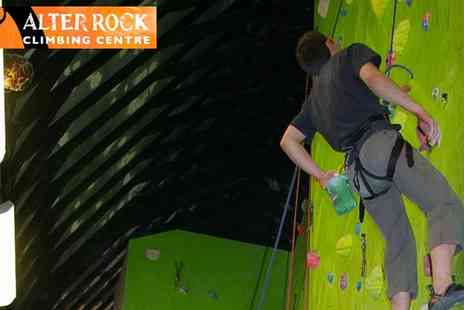 Alter Rock Climbing - Summer Climbing Course Derbyshire - Save 10%