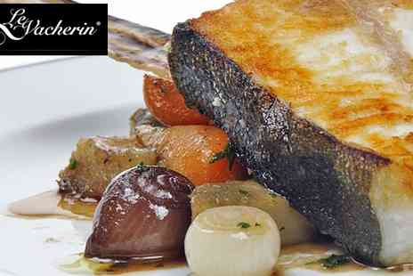 Le Vacherin - Three Course Lunch for Two with a Glass of Wine - Save 54%