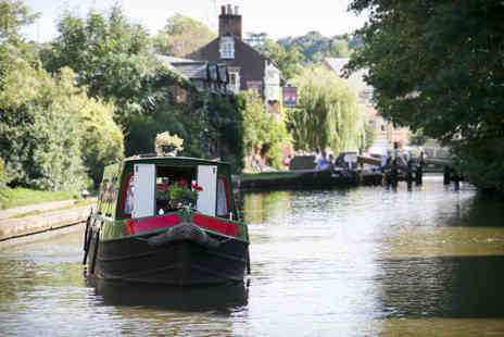 The Drunken Monkey - Canal boat ride and 2 course Chinese meal for 2 - Save 52%