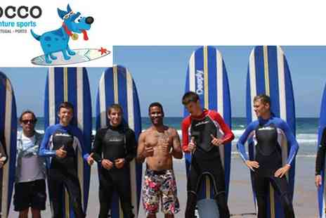 Rocco Adventure Sports - Five surfing lessons in the week in Portugal - Save 55%