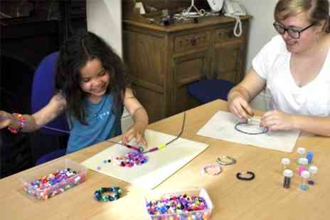 The Bead Shop - Childrens Jewellery Making Two Hour Party With Drinks and Snacks - Save 64%