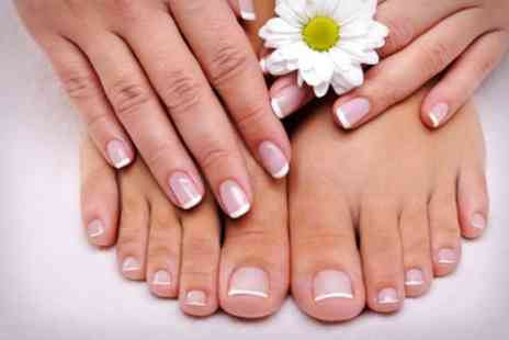 Vivid Nails - IBD Gel Manicure or Pedicure - Save 50%