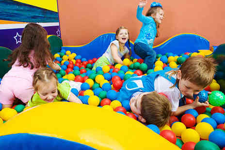 Kidz2Play - Soft Play Party for Up To 15 Children Including Snack Buffet with Sandwiches - Save 76%