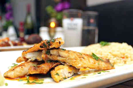 Kew Kitchen - Two Starters Two Main Courses and Two Glasses of Wine for Lunch  - Save 64%